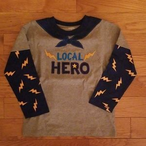 "Brand new never worn ""Local Hero"" Long Sleeve 4T"